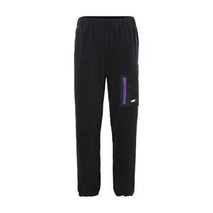 FILA Kalhoty  fialová / černá