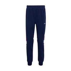 FILA Kalhoty 'NERITAN Track'  tmavě modrá / vínově červená / bílá