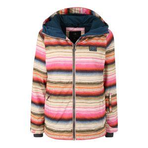 BILLABONG Sportovní bunda 'sula'  mix barev / oranžová / růžová