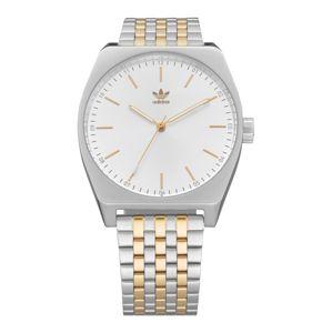 ADIDAS ORIGINALS Analogové hodinky 'Process_M1'  bílá / stříbrná / zlatá