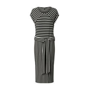 Esprit Collection Letní šaty  černá / bílá
