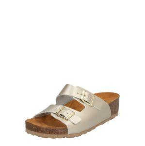 Bianco Pantofle 'Betty'  zlatá / béžová
