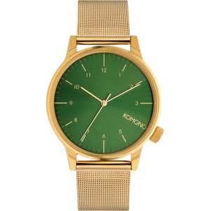 Komono Analogové hodinky 'WINSTON ROYALE'  zlatá / zelená