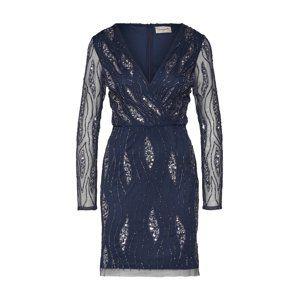 LACE & BEADS Koktejlové šaty 'Majic'  námořnická modř