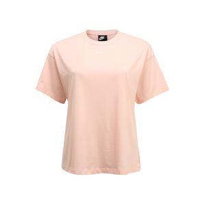 Nike Sportswear Tričko 'W NSW ESSNTL TOP SS BF PLUS'  korálová