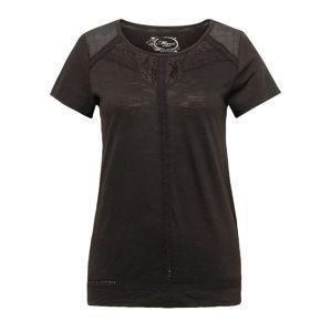 Mavi Tričko 'LACE DETAILED'  černá