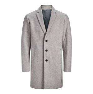 JACK & JONES Přechodný kabát  šedá
