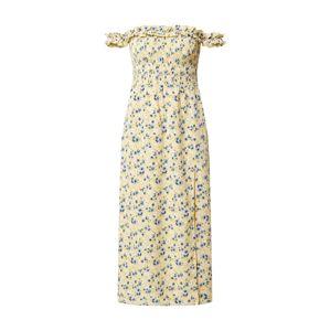 Fashion Union Letní šaty 'Ashanti'  žlutá