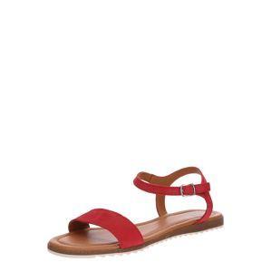 Apple Of Eden Páskové sandály 'Lara'  béžová / červená