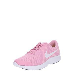 NIKE Sportovní boty 'Revolution 4'  pink / bílá