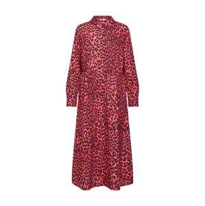 Envii Šaty  červená / černá