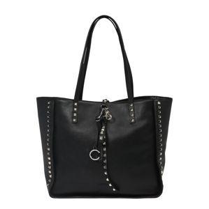 COMMA Nákupní taška 'BE IN LOVE'  černá