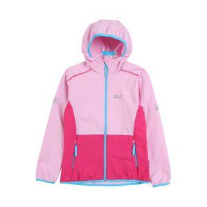JACK WOLFSKIN Outdoorová bunda  nebeská modř / modrá / pink