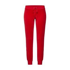 Juicy Couture Black Label Kalhoty 'Velour Zuma'  červená