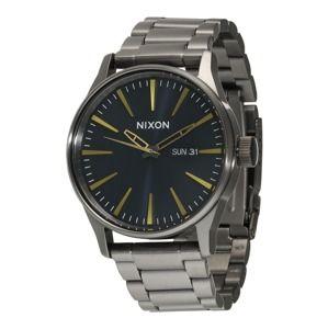 Nixon Analogové hodinky 'Sentry SS'  stříbrná