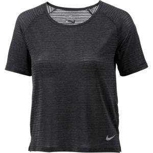 NIKE Funkční tričko 'MILER'  antracitová