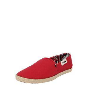Tommy Jeans Slipper 'IAN'  béžová / červená