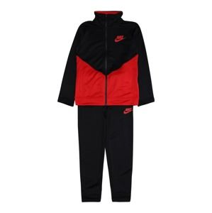 Nike Sportswear Joggingová souprava  černá / červená