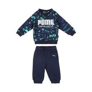 PUMA Joggingová souprava  modrá / mix barev