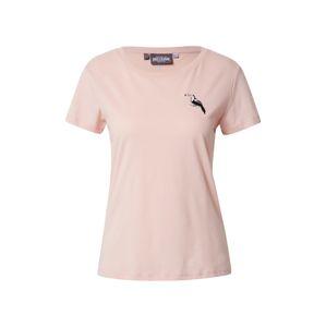 mazine Tričko  růžová