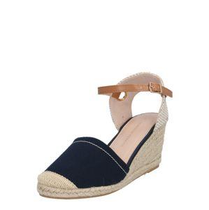 Dorothy Perkins Páskové sandály 'PART ESPADRILLE'  modrá
