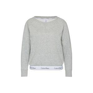 Calvin Klein Underwear Mikina  šedý melír