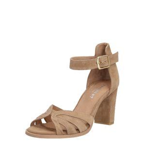PAVEMENT Páskové sandály 'Gillian'  šedobéžová