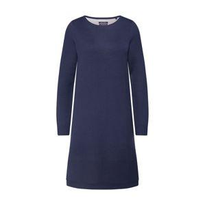 Marc O'Polo Úpletové šaty 'HEAVY KNIT DRESSES'  noční modrá