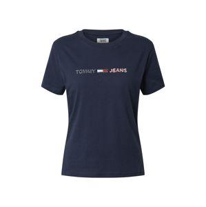 Tommy Jeans Tričko 'Americana'  námořnická modř