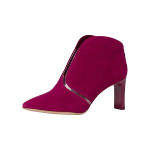 TAMARIS Kotníkové boty  červená / průhledná