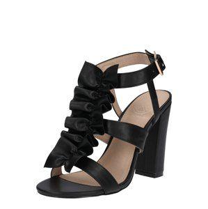 Miss KG Páskové sandály 'FLISS'  černá