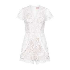 Love Triangle Overal 'In the Picture Playsuit'  bílá