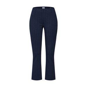 GAP Kalhoty 'PONTE CROP FLARE Y/D'  námořnická modř / bílá