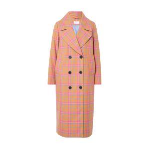 Libertine-Libertine Přechodný kabát 'Racer'  pink / oranžová / světlemodrá