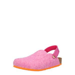 BIRKENSTOCK Pantofle 'Zimba'  oranžová / růžový melír