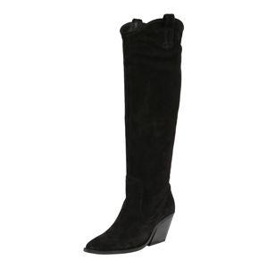 BRONX Kovbojské boty  černá