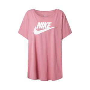 Nike Sportswear Tričko  bílá / fialová