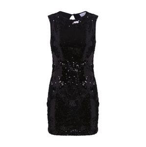 Carolina Cavour Šaty 'Sequins Dress'  černá