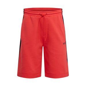 BOSS ATHLEISURE Kalhoty 'Headlo 1'  červená
