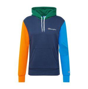 Champion Authentic Athletic Apparel Mikina  tmavě modrá / oranžová / zelená / královská modrá