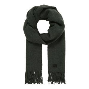 G-Star RAW Šála 'Pinch scarf wmn'  tmavě zelená