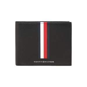 TOMMY HILFIGER Peněženka  červená / černá / bílá