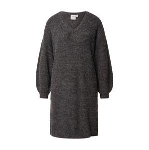 ICHI Úpletové šaty 'IHNOVO'  tmavě šedá