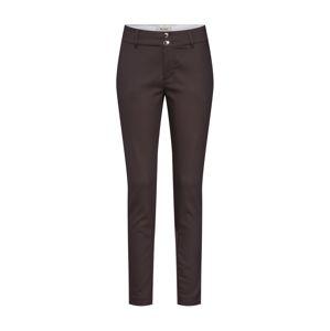 MOS MOSH Chino kalhoty 'Blake Night Pant Sustainable'  hnědá