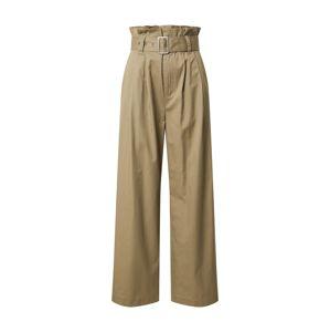mbym Kalhoty se sklady v pase 'Tasha'  khaki