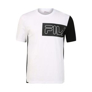 FILA Funkční tričko 'LAZAR'  černá / bílá