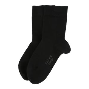 FALKE Ponožky 'Family'  černá