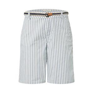 ESPRIT Chino kalhoty  bílá / chladná modrá
