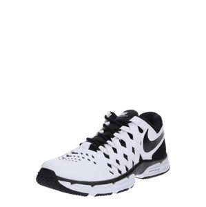 NIKE Sportovní boty 'Lunar Fingertrap Training'  černá / bílá