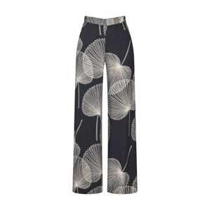 Esprit Collection Kalhoty 'PrintedStraight'  černá